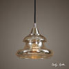 Arborea Mercury Glass Pendant Light by Uttermost