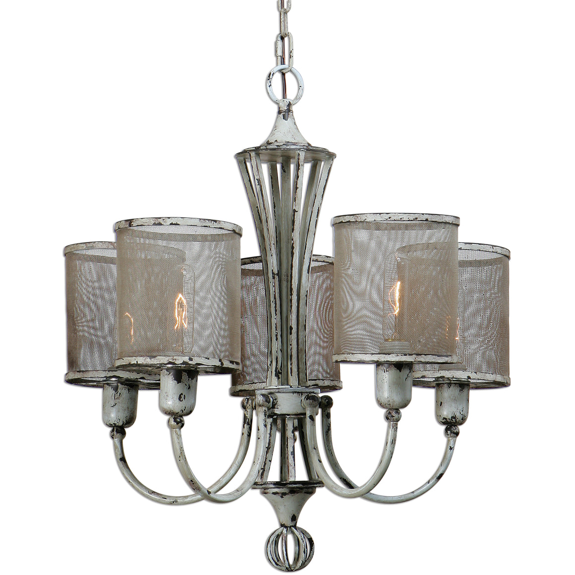 Traditional - Pontoise Five Light Chandelier By Uttermost
