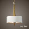 Obeliska Three Light Chandelier by Uttermost