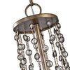 Valka 6 Light Crystal Chandelier