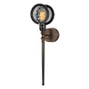 Gavia 1 Light Dark Brass Sconce