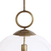 Calix Large Blown Glass 1 Light Pendant