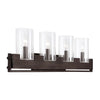 Pinecroft Industrial 4 Light Vanity