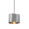 Baradla 1 Light Brushed Nickel Mini Pendant