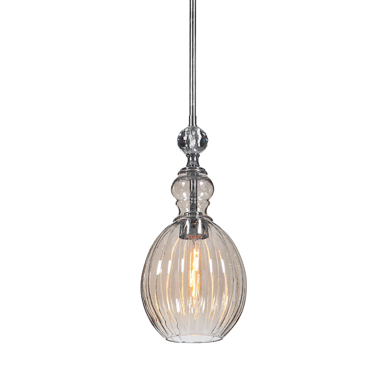 GiGi 1 Light Glass Mini Pendant