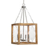 Perspex 4 Light Lantern Pendant