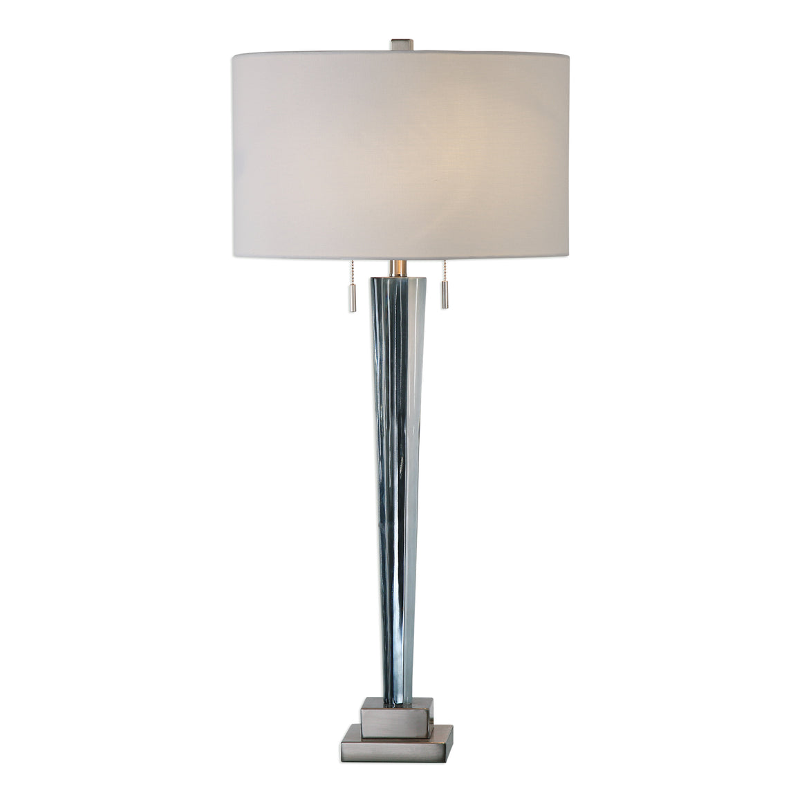 Afina Brushed Nickel Table Lamp