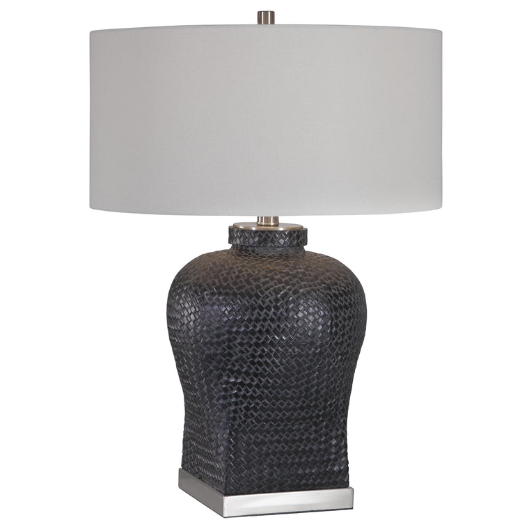 Akello Weave Texture Table Lamp
