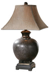 Table Lamp - Villaga Brown Glaze Table Lamp