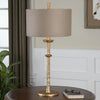 Heraclius Gold Leaf Table Lamp