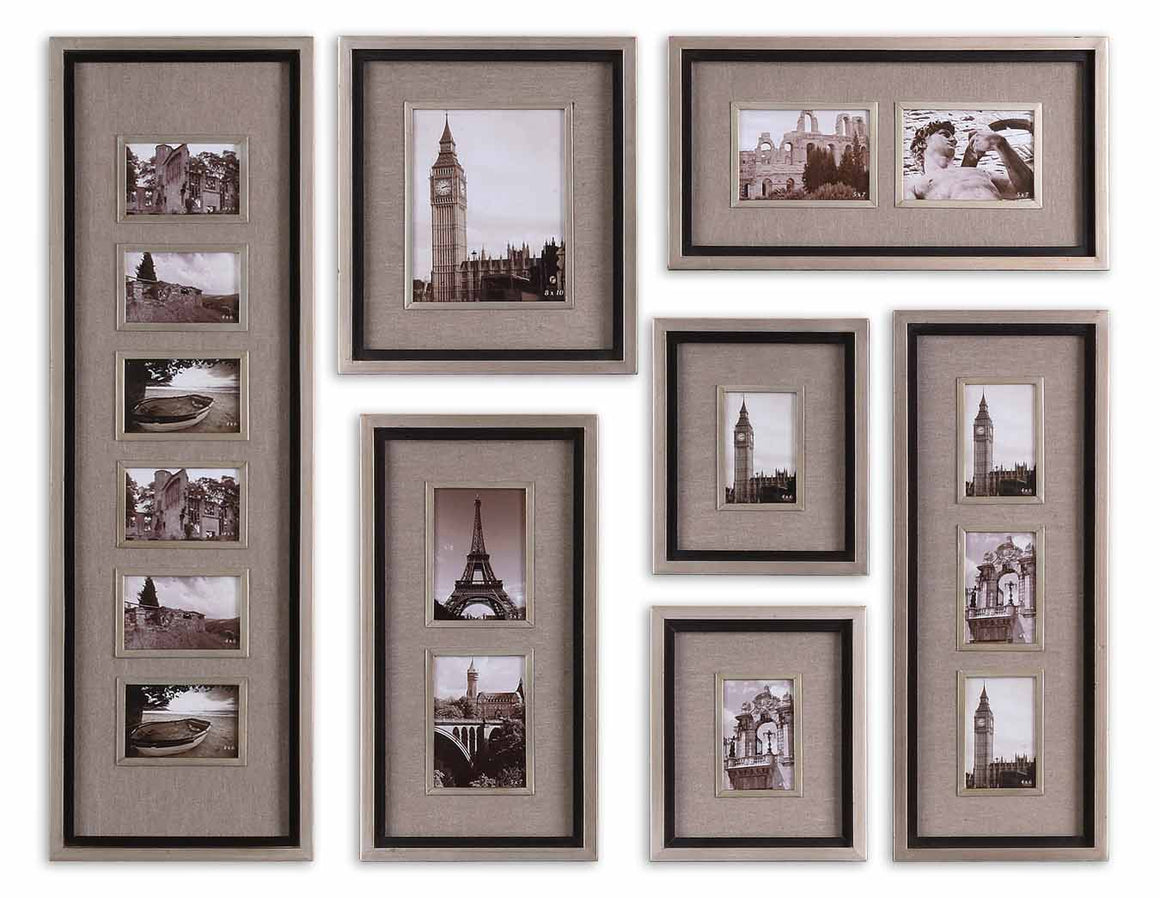 Massena Photo Frame Collage, S/7