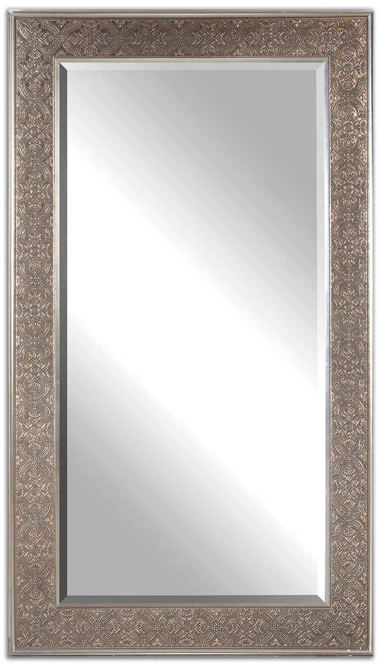 Villata Antique Silver Mirror