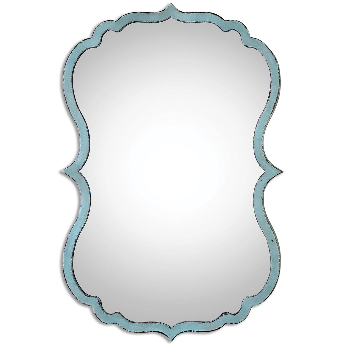 Nicola Light Blue Mirror