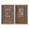 Endicott Petrified Wood Panels Set/2