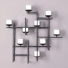 Marni 9 Candle Iron Wall Sconce