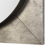 Solomon Metallic Silver Mirror