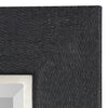 Kaira Textured Black Mirror