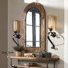 Joselyn Bronze Candle Wall Sconce