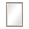 Barree Antiqued Champagne Mirror