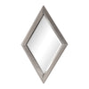 Diamante Silver Mirror