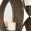 Nina Antique Bronze 4 Candle Sconce