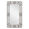 Alston Open Framed Iron Mirror