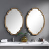 Ariane Gold Oval Mirror