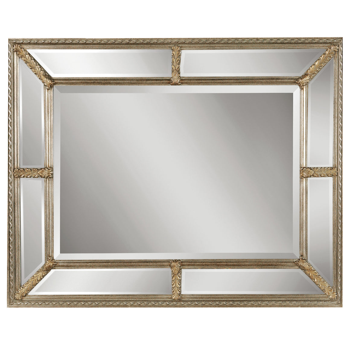 Lucinda Antique Silver Mirror