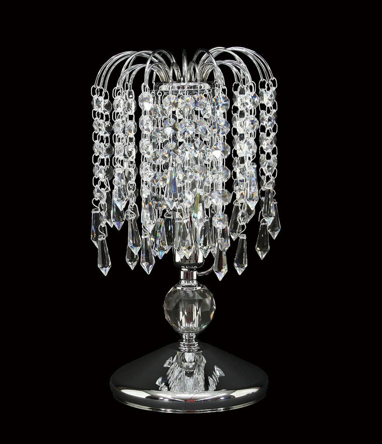 "4718-6"" Asfour Crystal Table Lamp"