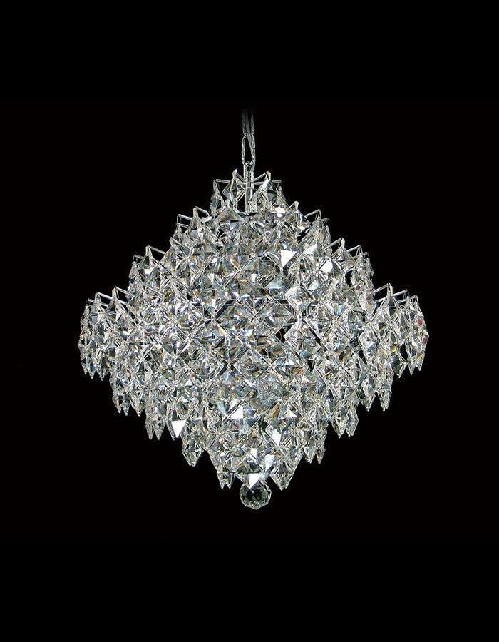 Diamond 10 Light Asfour Crystal Chandelier