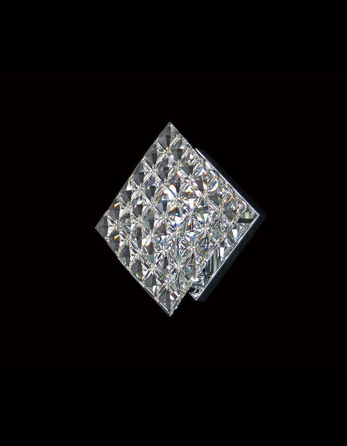 Asfour Crystal - Diamond Single Asfour Wall Light