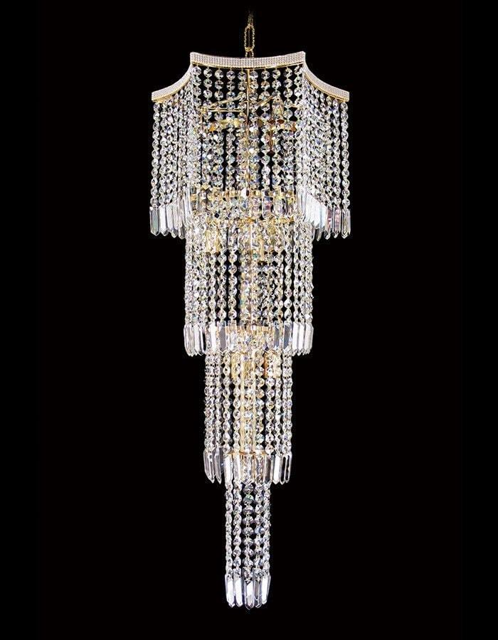 Asfour Crystal - Luxor 10 Light Asfour Crystal Chandelier