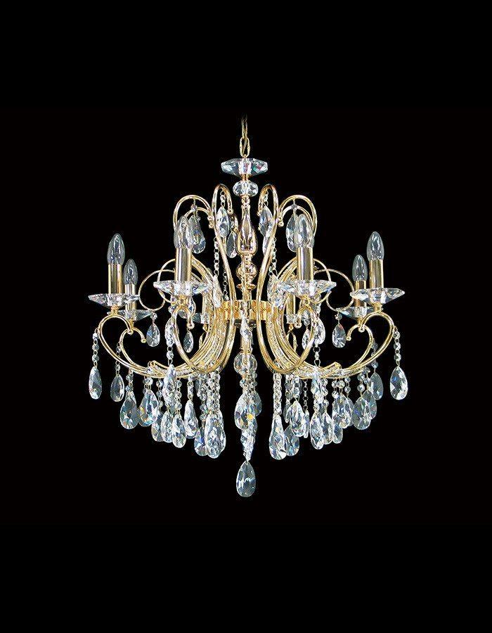 Asfour Crystal - Marie Therese 8 Light Asfour Crystal Chandelier