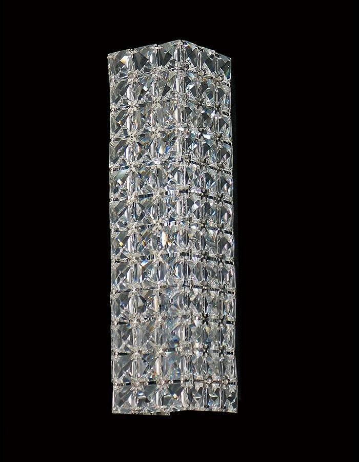 Asfour Crystal - Oblong Two Light Asfour Crystal Wall Light