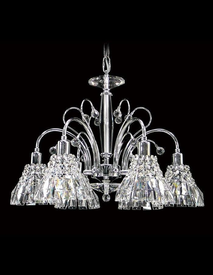 Asfour Crystal - Safaga Six Light Asfour Crystal Chandelier