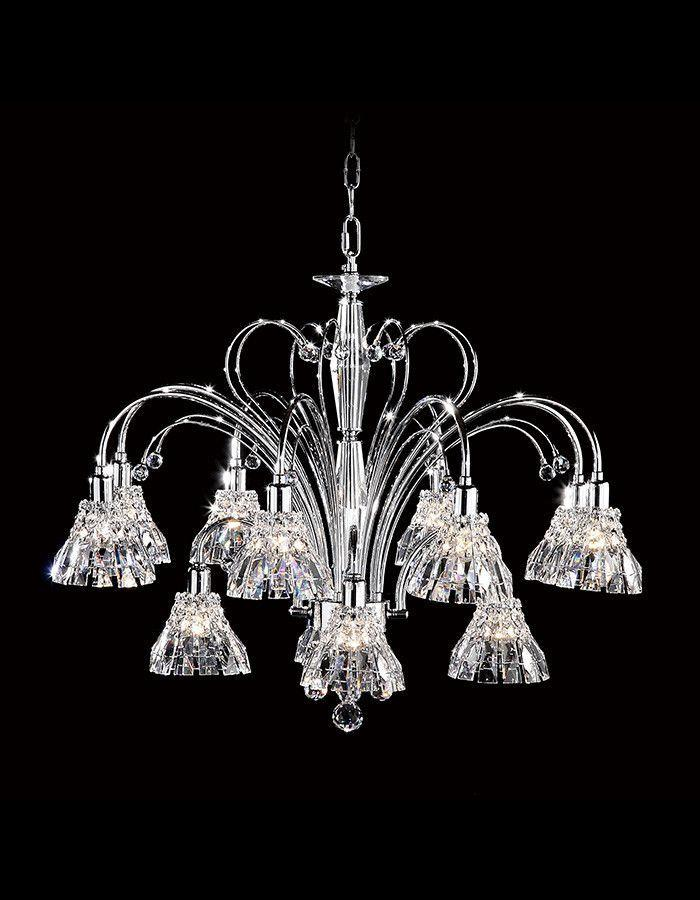 Asfour Crystal - Safaga Twelve Light Asfour Crystal Chandelier
