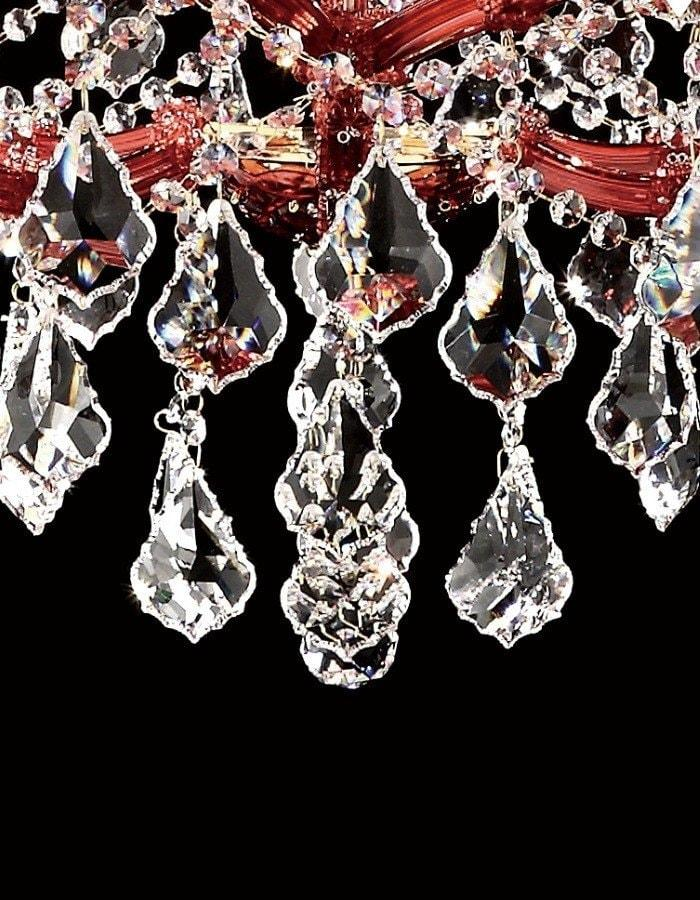 Scarlet 18 light asfour crystal chandelier chic chandeliers asfour crystal scarlet 18 light asfour crystal chandelier aloadofball Choice Image