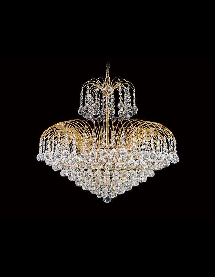 Asfour Crystal - Sphinx 12 Light Ball Asfour Crystal Chandelier