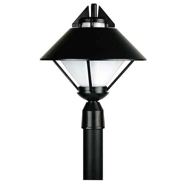 Bollards And Posts - Apollo Black Post Mount Outdoor Light