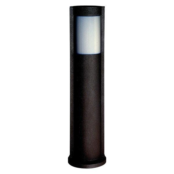 Bollards And Posts - Oki Black Bollard Outdoor Light
