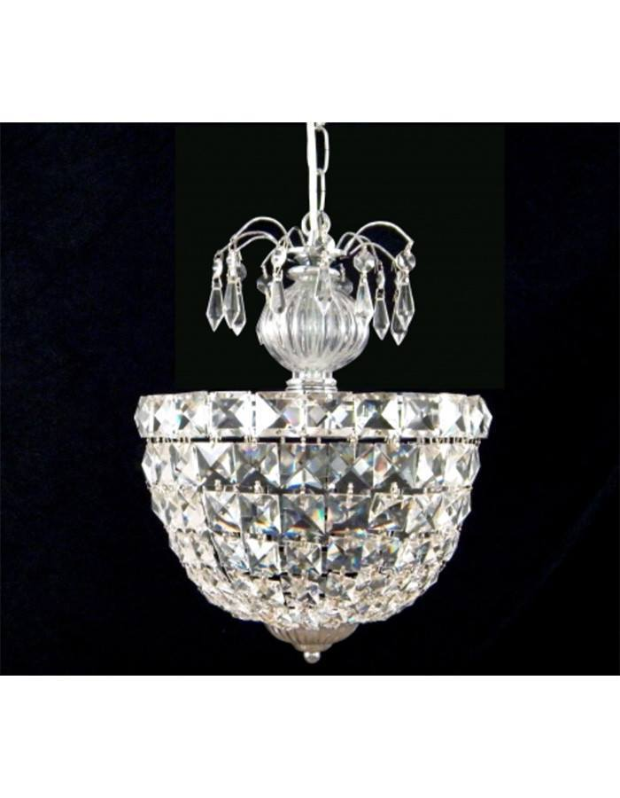 Crystal - Cloe Crystal Single Light Chandelier
