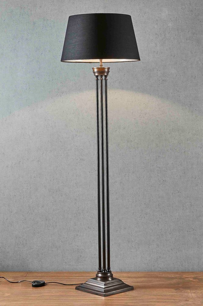 Hudson Floor Lamp Base Bronze