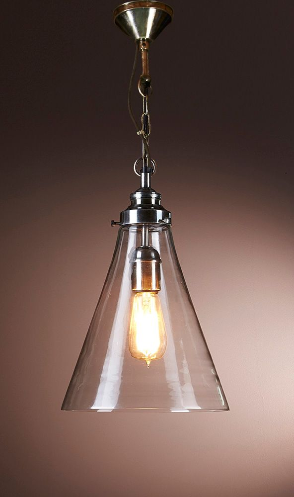 Gadsden Small Glass Hanging Lamp