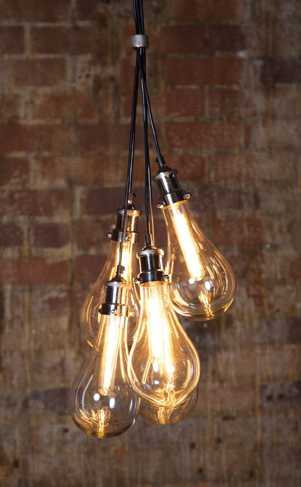 Odean 5 Piece Glass Pendant Lamp