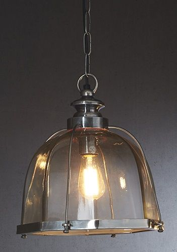 Avery Ceiling Lamp in Antique Silver