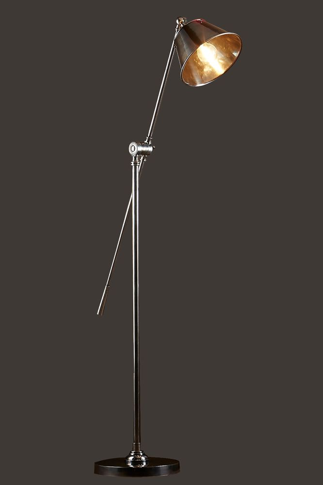 Winslow Floor Lamp Antique Silver