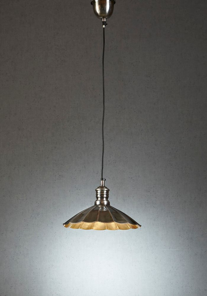 Atlantic Hanging Lamp in Silver