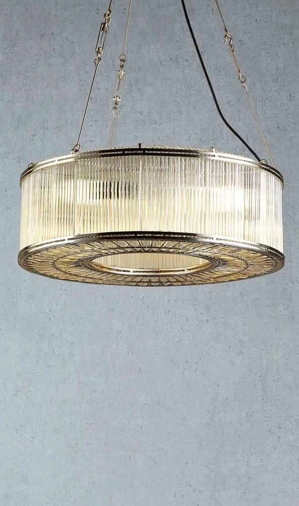 Verre Ring Glass Pendant Lamp