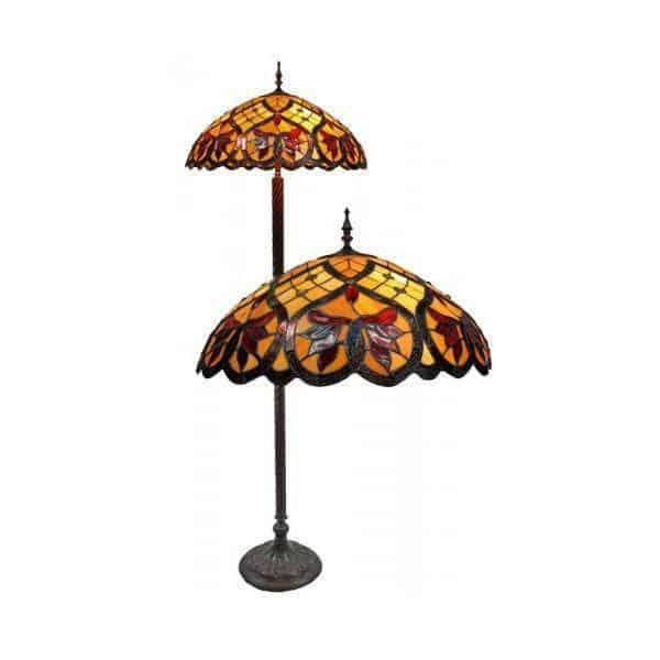 Floor Lamp - Autumn Tiffany Floor Lamp