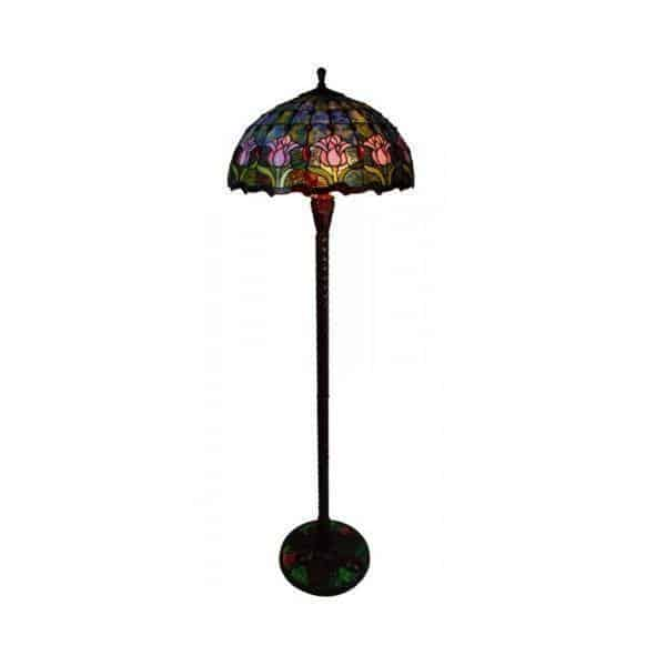 Floor Lamp - Tulip Tiffany Floor Lamp